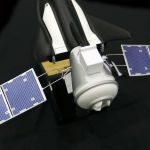 Sierra Nevada debuts Shooting Star spacecraft: Sierra Nevada Shooting Star Model