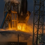 January 29th 2020 SpaceX Starlink 3 Launch Pad 40 Cape Canaveral Florida Scott Schilke: Remote Camera Photos Jan. 29th 2020 SpaceX Starlink 3 Mission