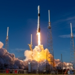 January 29th 2020 SpaceX Starlink 3 Launch Pad 40 Cape Canaveral Florida Scott Schilke: A beautiful SpaceX Starlink 3 Falcon 9 lifting off the pad
