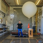 February 20th 2020 45th Weather Squadron Forecasting / Weather Balloon Launch - Scott Schilke: Feb. 20th 2020 Anne Siverling explains the two types of balloons