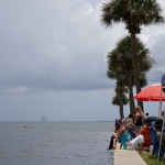 Falcon 9 / SpaceX Crew Demo-2 (Jared Haworth): Crowds gather in Titusville