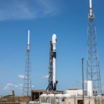 SpaceX Falcon 9 GPSIII-SV03 launched from LC-40 at 4:10 PM EDT Cape Canaveral Florida June 30th 2020: