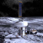 SNC LIFE Hab Module: SNC rendering of LIFE Hab on Moon