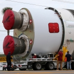 Vulcan Centaur Pathfinder Arrives at Cape Canaveral: