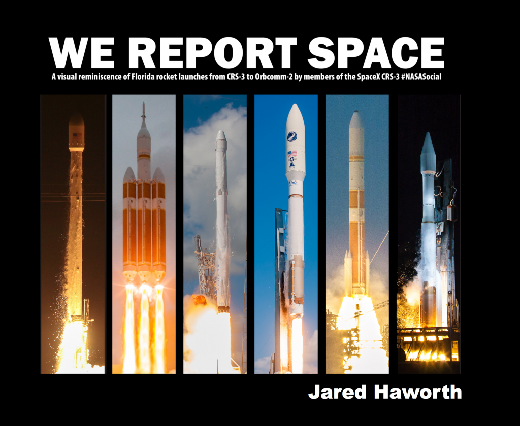 We Report Space cover