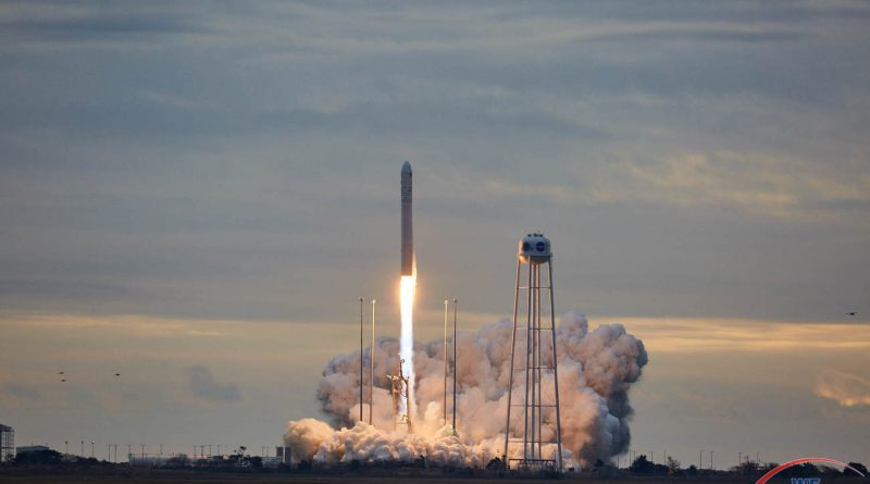 Launch of Orbital ATK OA-8E aboard an Antares 230 rocket.  Photo credit: Jared Haworth / We Report Space