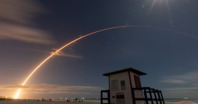 Solar Orbiter launch as seen from Florida's Space Coast.  Photo credit: Michael Seeley / We Report Space